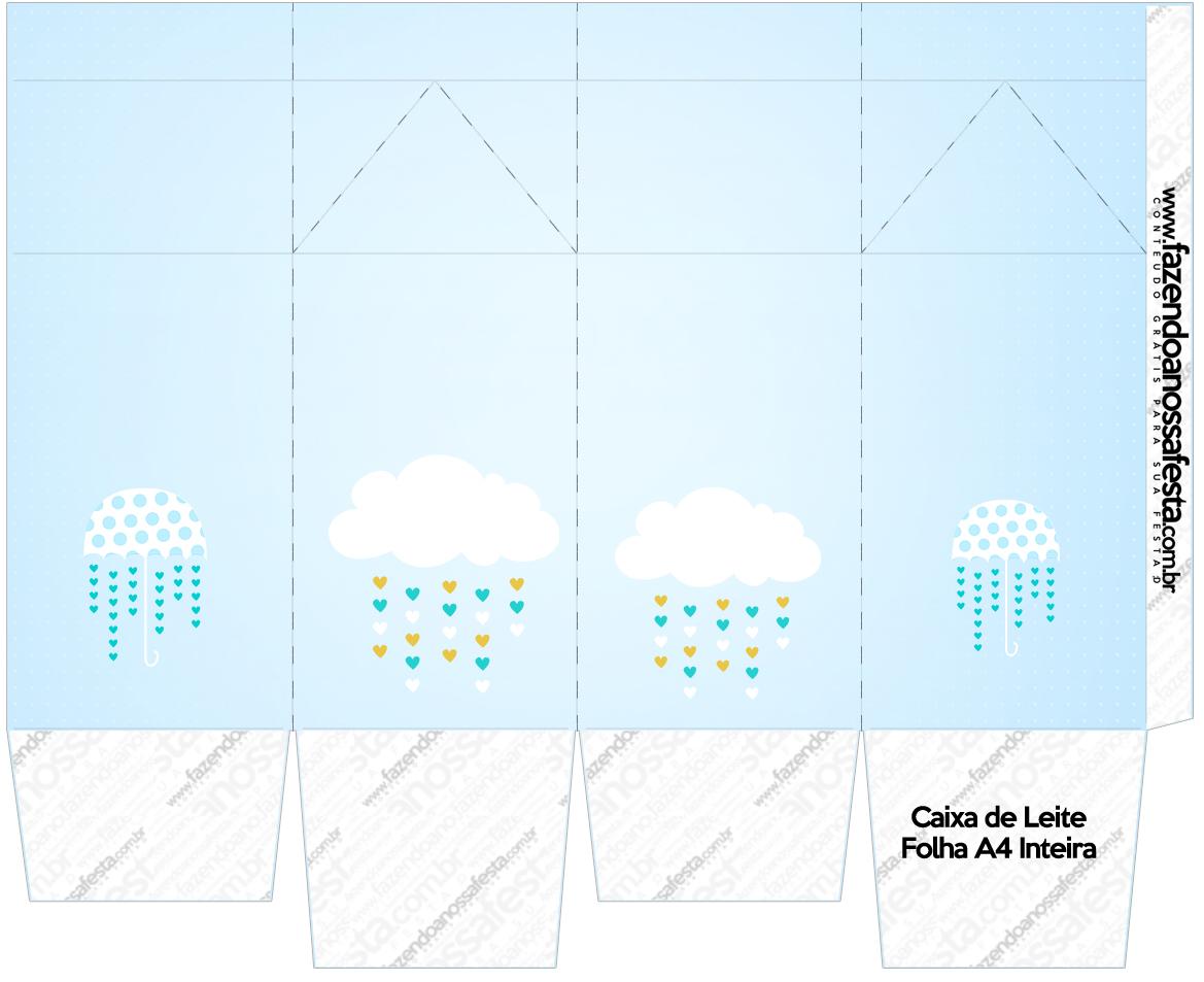 Caixa de Leite Chuva de Bencao