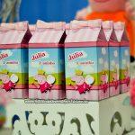 Caixa de leite 2 Festa Peppa Pig da Julia