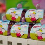 Caixinha Festa Peppa Pig da Julia