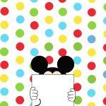 Cartão Mickey e sua Turma