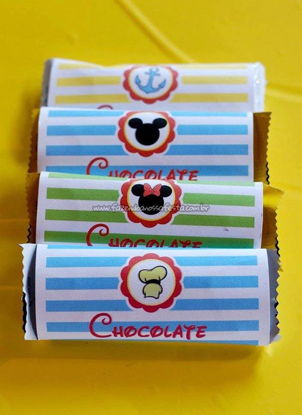 Chocolate Festa Mickey e sua Turma