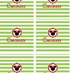 Chocolate Personalizados Mickey e sua Turma - Minnie