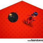 Cone Guloseimas 4 lados Miraculous Ladybug