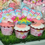 Cone Guloseimas Festa Peppa Pig Princesa da Julia
