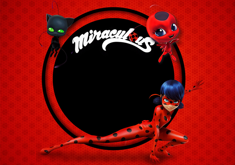 3d Wall Stickers Online Convite Miraculous Ladybug Fazendo A Nossa Festa