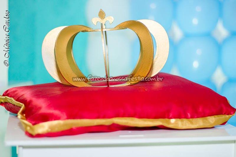 Coroa - Festa Realeza do Arthur