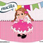 Creminho Nucita Festa Junina Rosa