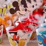 Molde Cupcake Mickey e sua Turma Grátis para Imprimir