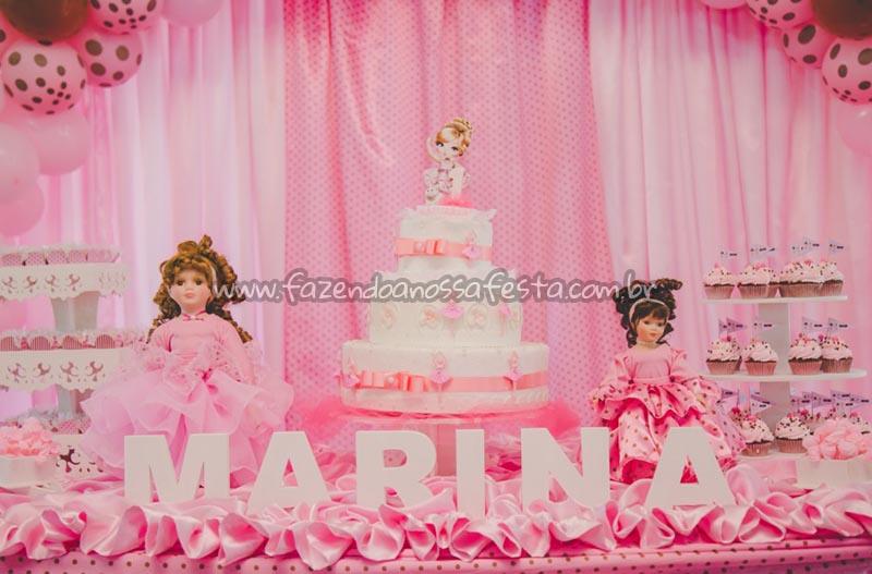 Decoracao Festa Bailarina Jolie da Marina