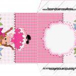 Envelope CD DVD Festa Junina Rosa