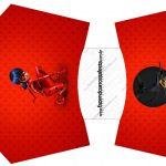 Envelope Fritas Miraculous Ladybug