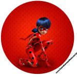 Latinhas, Toppers e tubetes Miraculous Ladybug