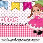 Mentos Festa Junina Rosa