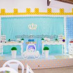 Mesa dos doces Festa Realeza do Arthur