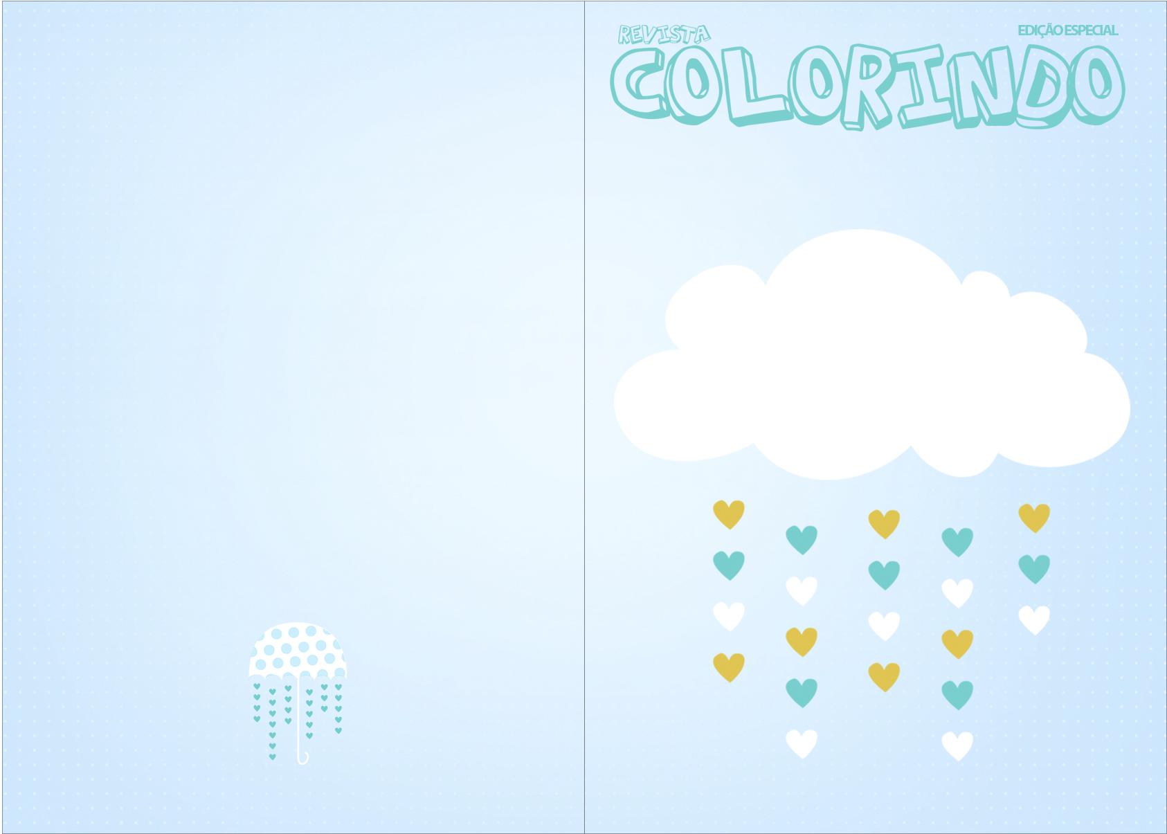 Revista Colorindo Chuva de Benção