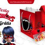 Kit Festa Miraculous Ladybug – Grátis