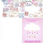 Passaporte Kit Festa Chuva de Benção para Menina