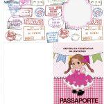 Passaporte Kit Festa Junina Rosa