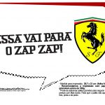 Plaquinhas Ferrari 10
