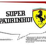Plaquinhas Ferrari 12