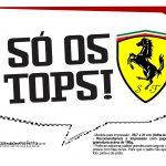 Plaquinhas Ferrari 13
