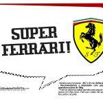 Plaquinhas Ferrari 15
