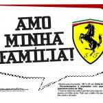 Plaquinhas Divertidas Ferrari 8
