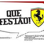 Plaquinhas Ferrari 16