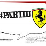 Plaquinhas Ferrari 18