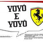 Plaquinhas Ferrari 20
