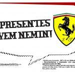 Plaquinhas Ferrari 5