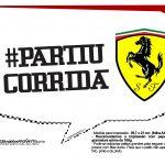 Plaquinhas Ferrari 8