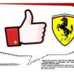 Plaquinhas divertidas Ferrari 4