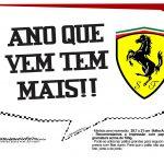Plaquinhas Ferrari 24