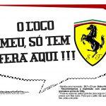 Plaquinhas Ferrari 21