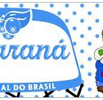 Rotulo Guarana Caculinha Festa Junina Azul