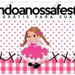 Rotulo Lapis Festa Junina Rosa