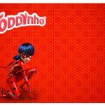 Rótulo Toddynho Miraculous Ladybug