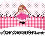 Saias Wrappers Festa Junina Rosa