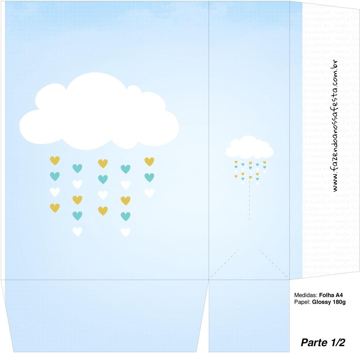 Saocolinha Surpresa Chuva de Bencao - Parte 1