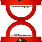 Saquinho de Balas Bolsinha Miraculous Ladybug