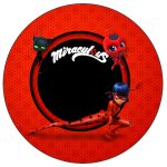 Toppers e Latinhas Miraculous Ladybug