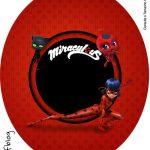 Tubete Oval Miraculous Ladybug