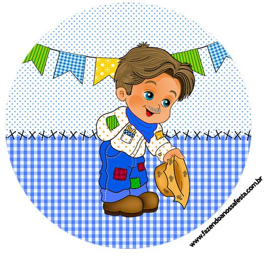 Armario Rinconera Conforama ~ Tubetes e Latinhas Kit Festa Junina Azul Fazendo a Nossa Festa