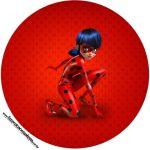Tubetes e toppers Miraculous Ladybug