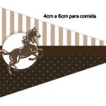 Bandeirinha Sanduiche 2 Cavalo