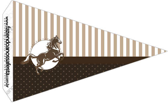 Bandeirinha Sanduiche 3 Cavalo