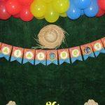 Bandeirinha Varalzinho Festa Junina do Théo