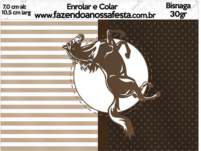 Bisnaga Brigadeiro 30gr Cavalo