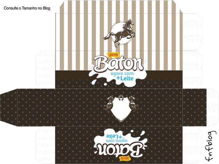 Caixa Baton Cavalo